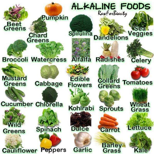 elenco verdure